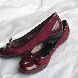 Alfani Shoes - Alfani red ballet flats.